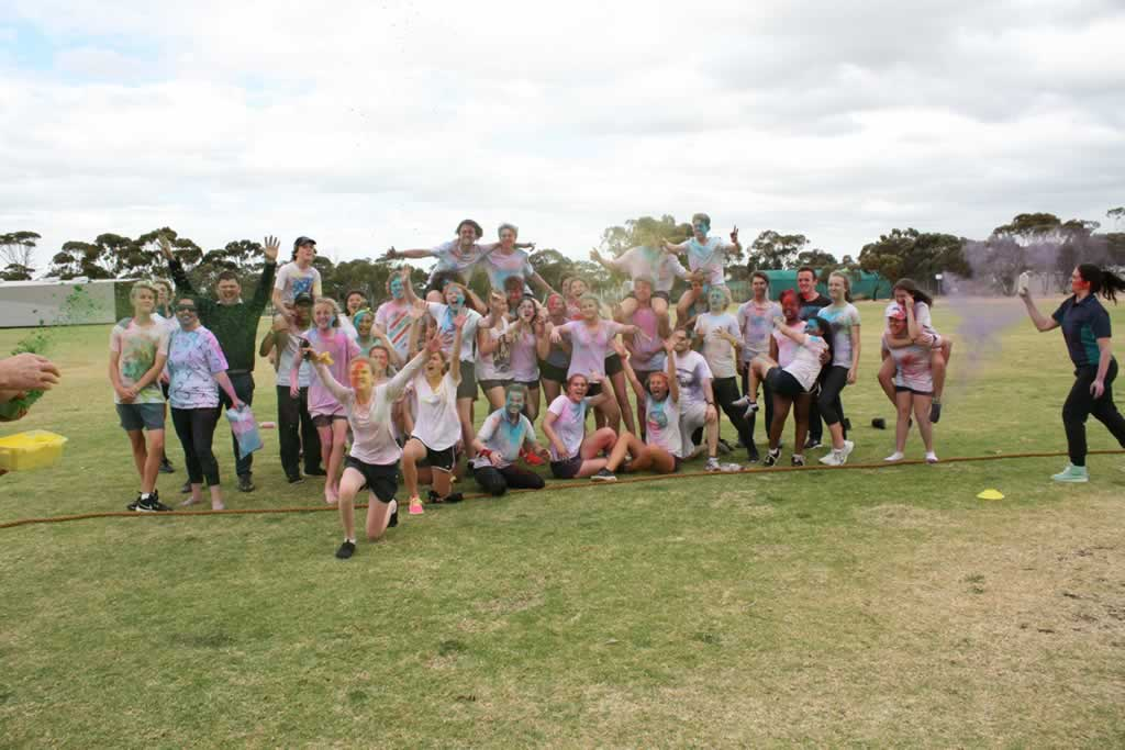 Year 9 Colour Run