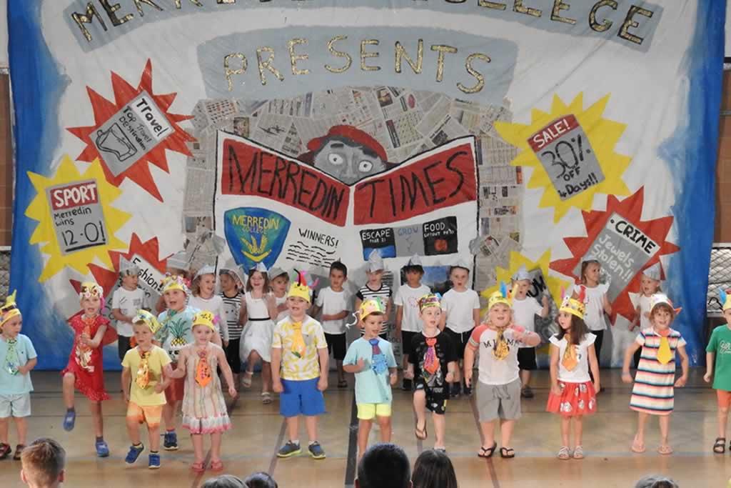 Merredin College K-2 Merrydin Concert
