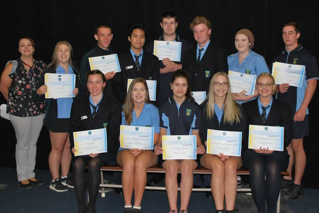 Year 10-11 Highest Achievers 2017