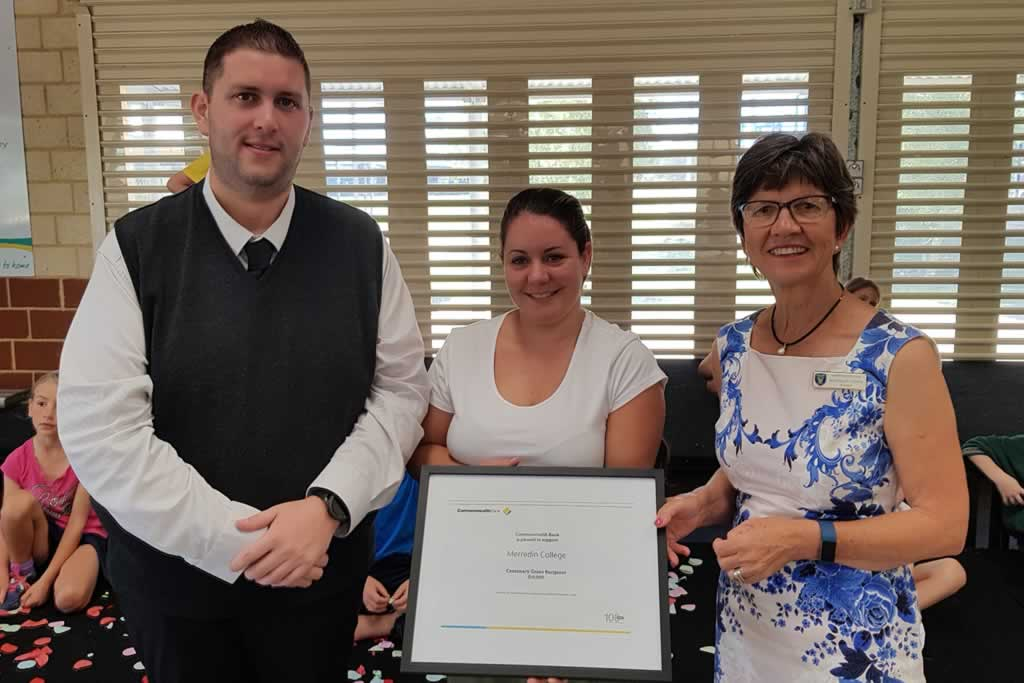 Merredin College receives support from Commonwealth Bank
