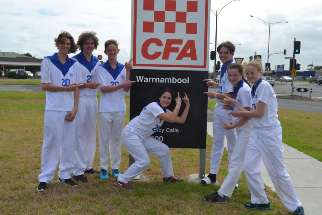 Students attend Victorian State Urban Junior Fire Brigade Championships