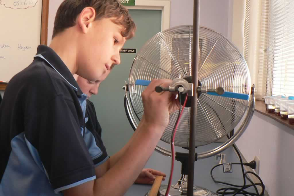 Year 7 Science – Wind Turbines