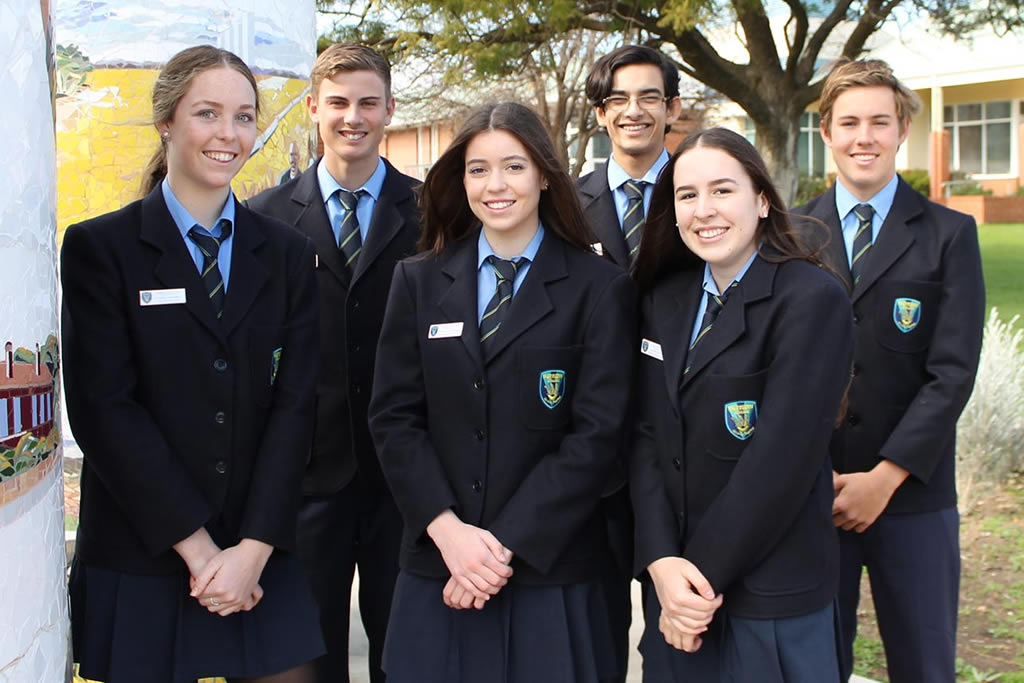 Year 12 Student Leaders 2018/19
