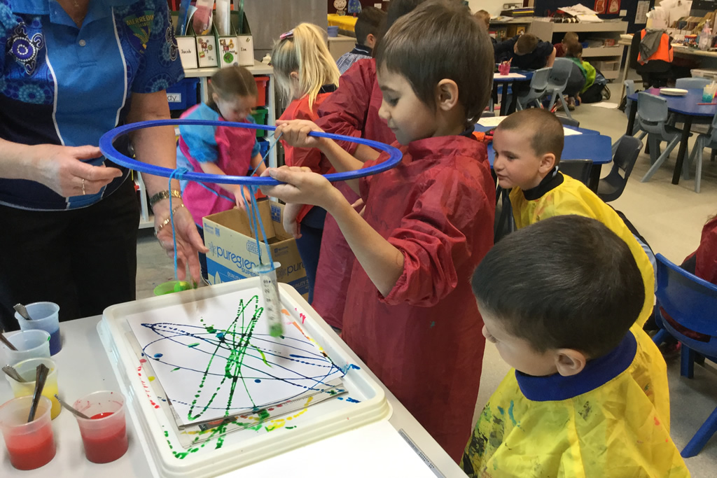 Pre-primary/Year 1 classroom in Term 3!