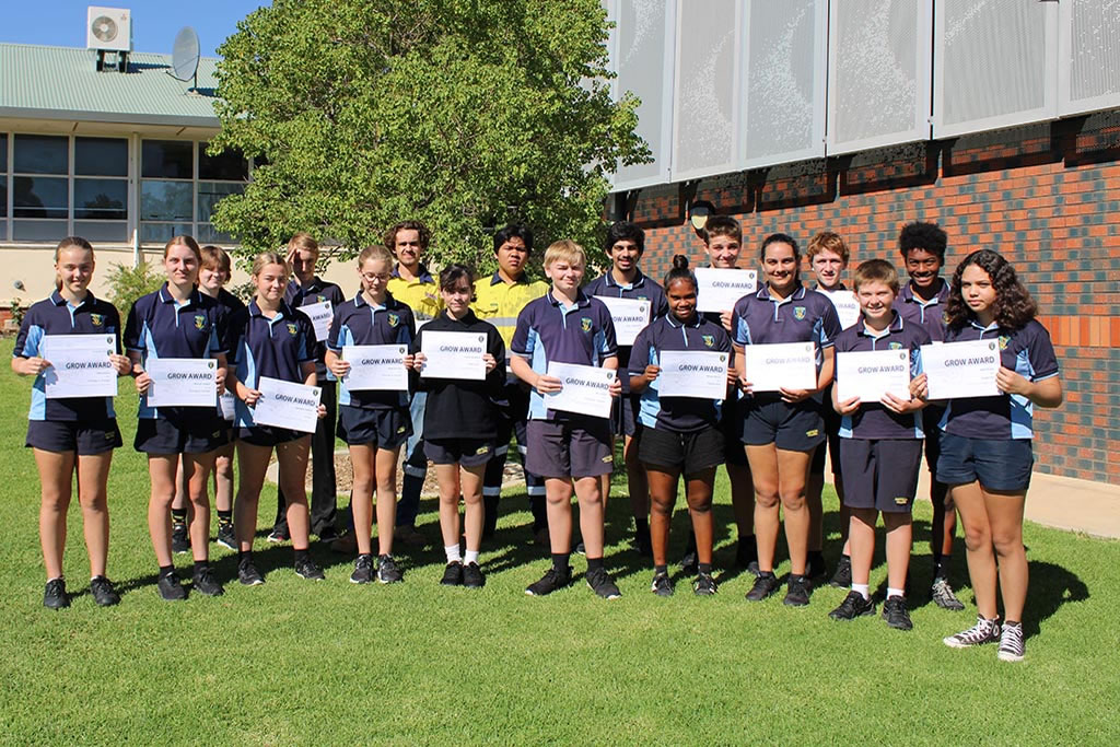 Secondary GROW Awards – Term 1