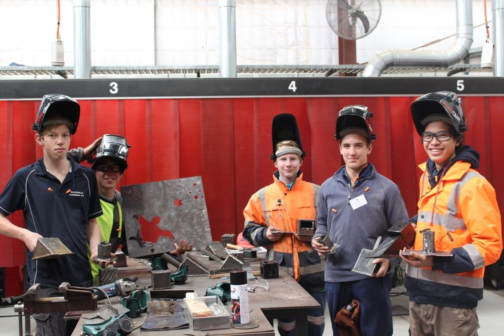 Would you want to be a bricklayer, carpenter or welder?