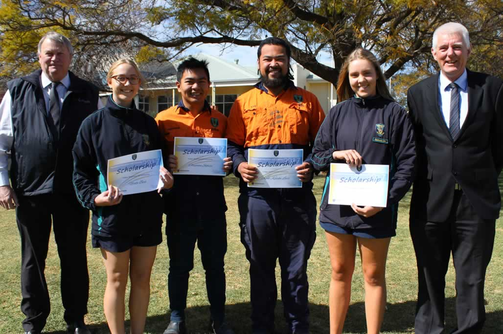 Collgar Wind Farm VET Scholarships Awarded at Assembly