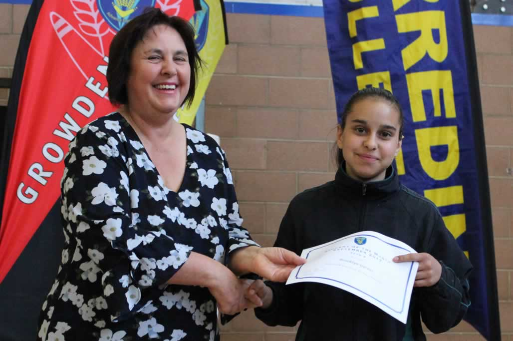 Secondary Student of the Month Assembly – Term 3, Week 9