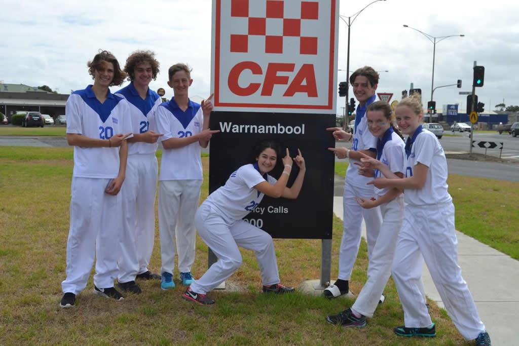 Students attend Victorian State Urban Junior Fire Brigade Championships