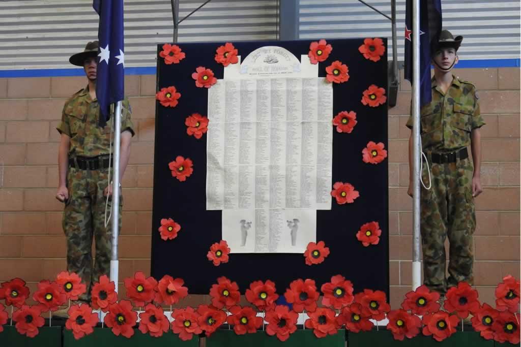 ANZAC Commemorative Assemblies
