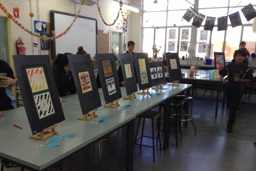 Year 7 Art Gallery