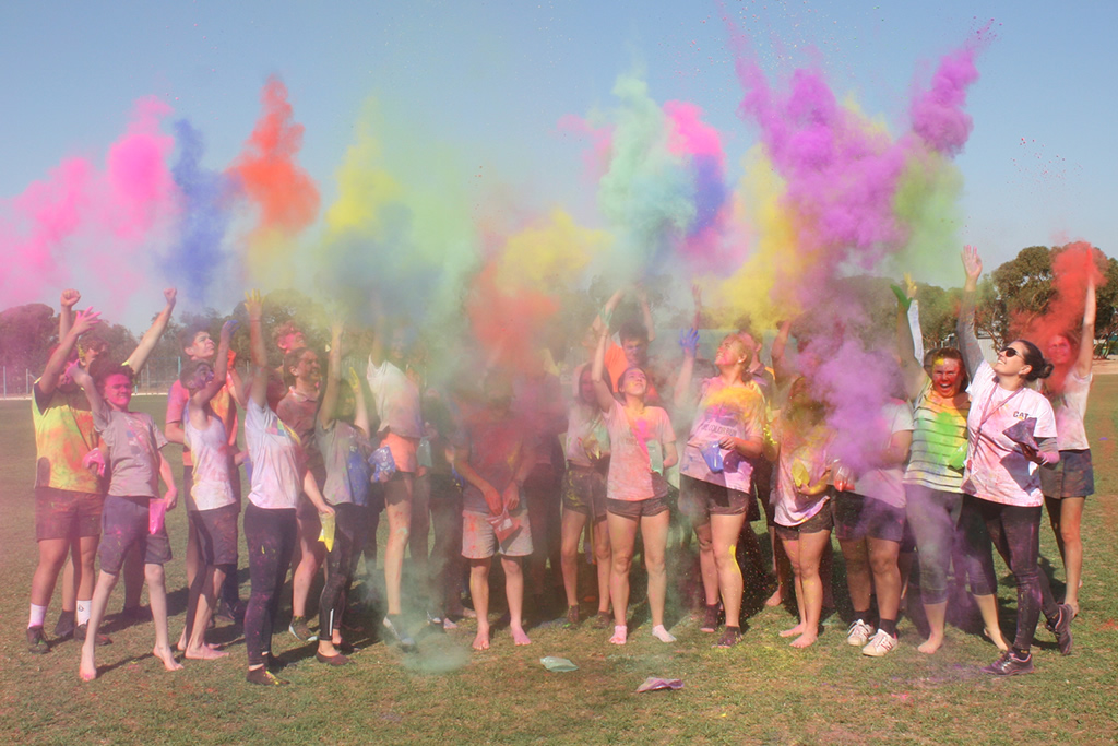 Year 10 Colour Run Reward Afternoon