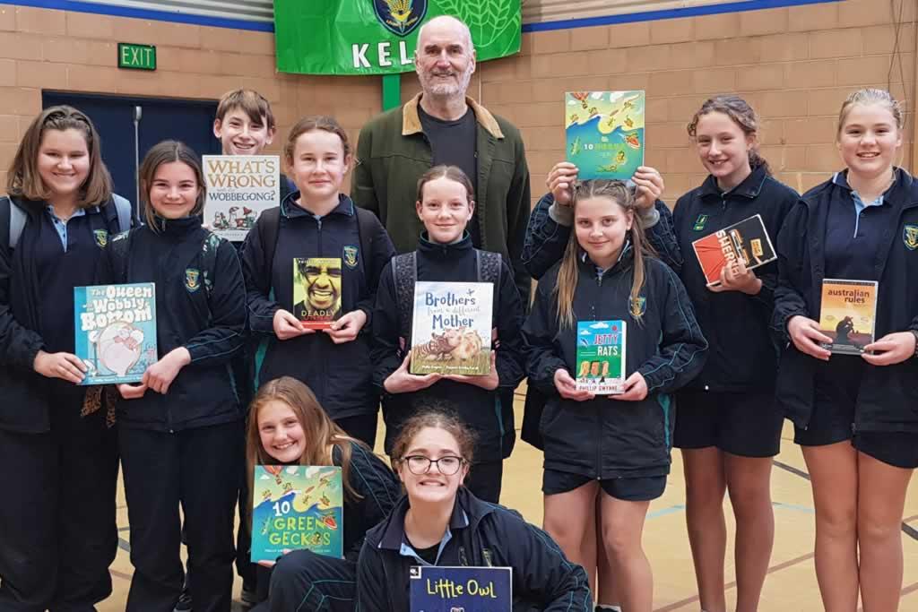 Phillip Gwynne (author) visits Merredin College