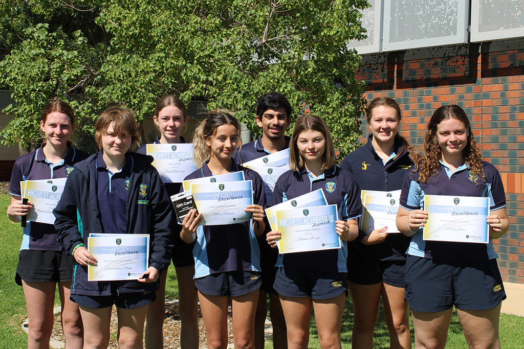 2020 Year 10/11 Highest Achievers